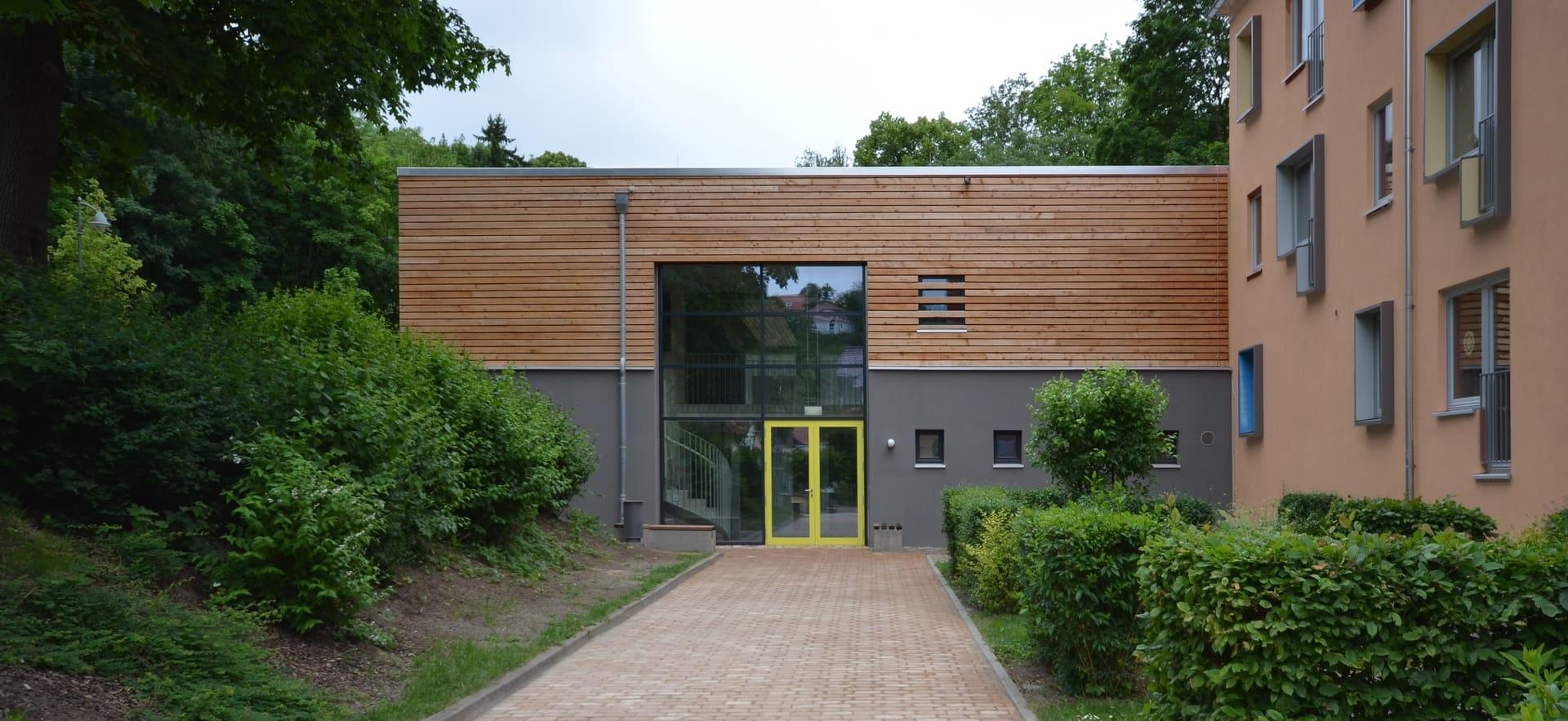 Sporthalle landesgymnasium f r musik steinblock architekten magdeburg - Architekten magdeburg ...